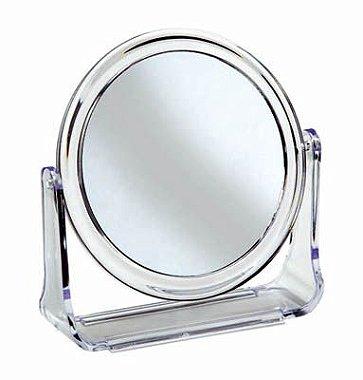 Santa Clara Espelho Emoldurado Médio Duplo para Bancada ( 988 )