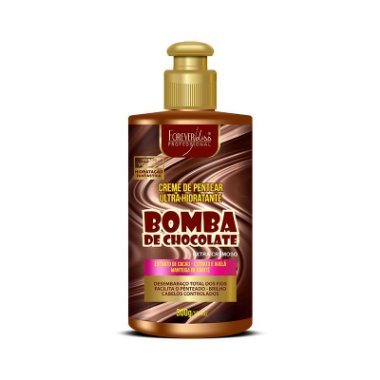 Forever Liss Bomba de Chocolate Creme de Pentear - 300g
