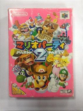 Mario Party 2 Na Caixa Original E Manual