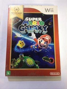 Mario Galaxy Jogo Original Nintendo Wii