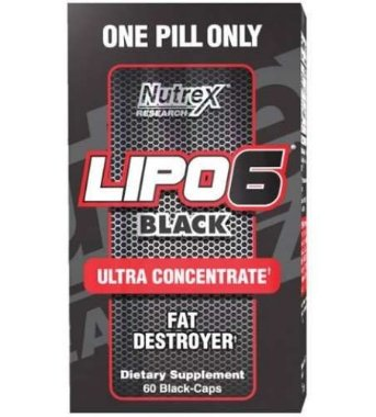 Lipo 6 Black Ultra Concentrado Nutrex