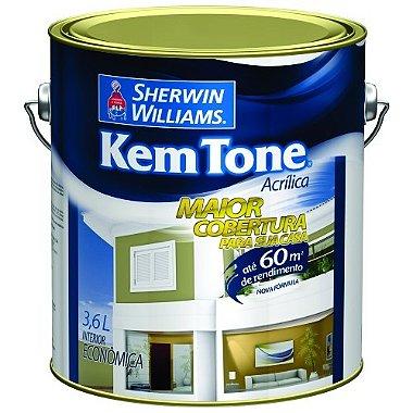 Tinta Acrilica 3,6l Verde Piscina Kem Tone Sherwin - williams