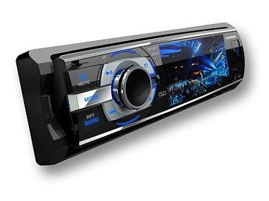 DVD Automotivo Automotivo Positron SP4700DTV com Tela LCD 3 ´, TV Digital, Entradas USB / Aux, Controle Remoto