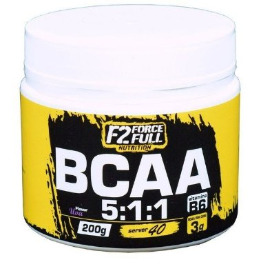 BCAA 5:1:1 + VIT B6 - 200G - F2 FORCE FULL melancia