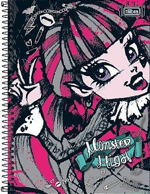 Caderno Universitário - Monster High - 96 Folhas - Tilibra