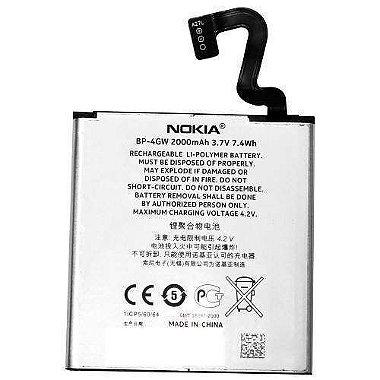 Bateria Nokia Bp - 4gw 2000 MaH Compatível com Microsoft Lumia 920