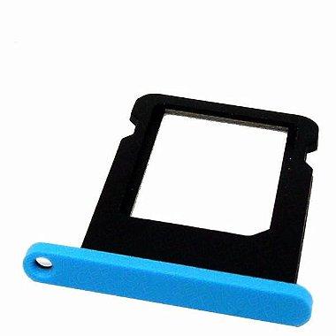 Bandeja Suporte Gaveta Tray P / Nano Chip Iphone 5c Azul