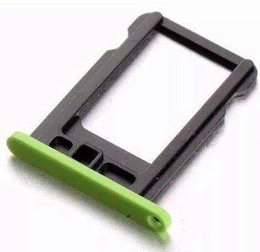 Bandeja suporte gaveta Tray P / Nano chip Iphone 5c verde