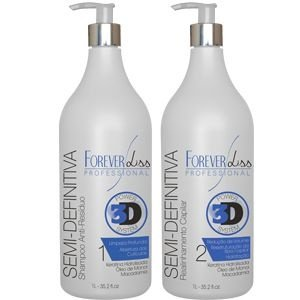 Forever Liss Escova Semi Definitiva Power 3D System Kit 2x1000ml
