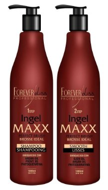 Forever Liss Kit Escova Progressiva Ingel Maxx 2x1000ml