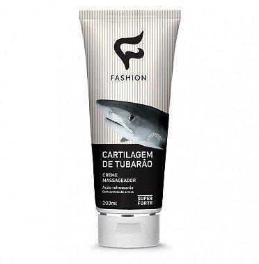 Fashion Cosméticos Creme Massageador Cartilagem de Tubarão 200ml