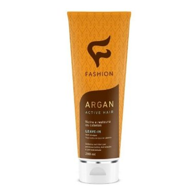 Fashion Cosméticos Leave - in Argan Active Hair 280ml