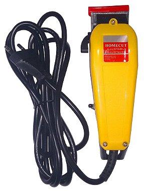 Máquina De Cortar Cabelo 110v 8 Pentes - guia Kit Completo
