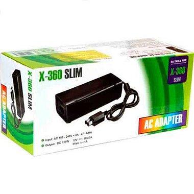 Fonte De Alimentação Bivolt Para Xbox 360 Slim X - 360