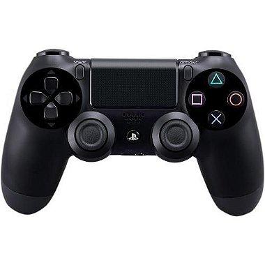 Controle Playstation 4 sem Fio Dualshock 4 Preto Sony