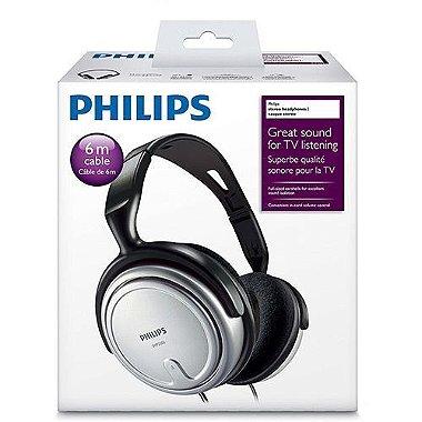 Fone de Ouvido Philips SHP2500 - Prata