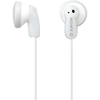 Fone de Ouvido Sony Fashion Earbuds MDR-E9LP - Branco