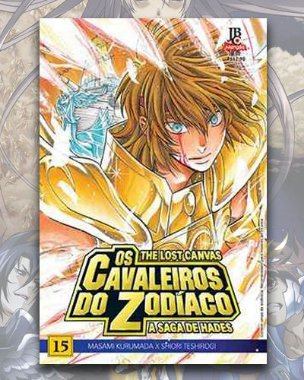 Cavaleiros Do Zodíaco - Lost Canvas: A Saga Hades - Vol 15