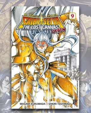Cavaleiros Do Zodíaco - Lost Canvas: Gaiden Vol 9