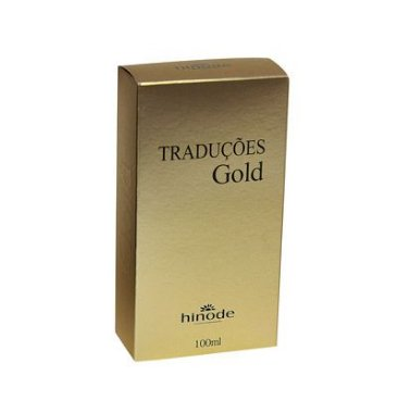 Traduções Gold Hinode Nº 1 Masculino 100ml ( Referencia Olfativa: Azzaro )