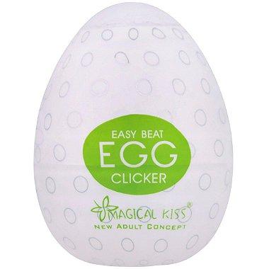Masturbador Egg Clicker Easy One Cap Magical Kiss em oferta na lojafetiches.com.br! Compre agora pelo menor preço!