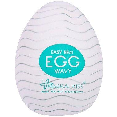 Masturbador Egg Wavy Easy One Cap Magical Kiss em oferta na lojafetiches.com.br! Compre agora pelo menor preço!