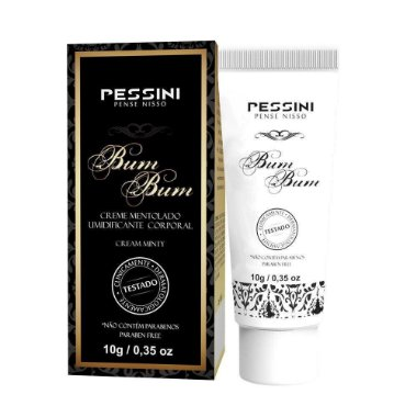Embalagem do Bumbum Excitante Anal Bisnaga 10g - Pessini