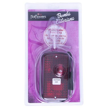 Bomba Clitoriana Elétrica - Embalagem