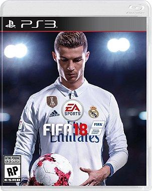 FIFA 18 - PS3 ( Pre - Venda Dia 10 / 10 / 2017 )
