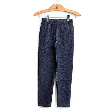 Calça Legging Infantil Malha Jeans