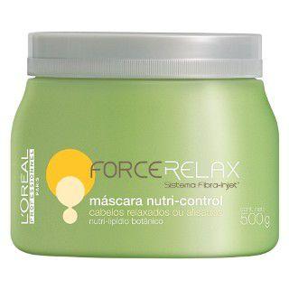 Máscara Nutri - Control Force Relax L ´ Oréal Professionnel - 500g