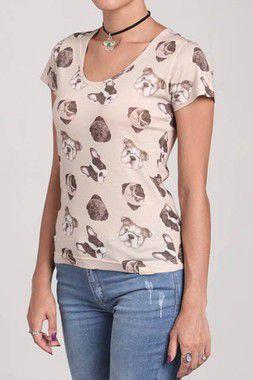 Camiseta Feminina - Dogs