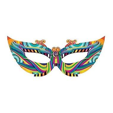 Enfeite máscara gigante carnaval