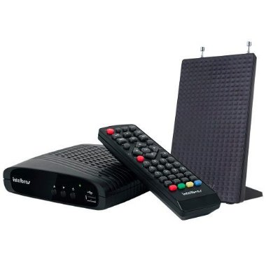 Kit Conversor Digital com Antena Intelbras