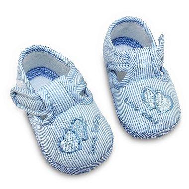 Sapatinho Love Baby Azul 17