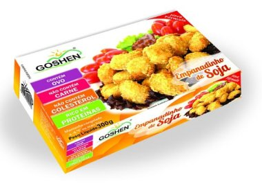 Empanadinho de Soja Vegetariana Goshen 300g