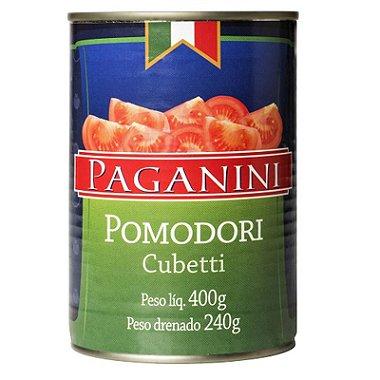 Pomodori Pelati em Cubos Paganini 400g