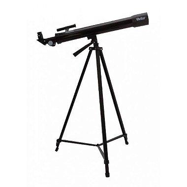 Telescópio com ampliação 75x / 150x, ocular, manopla e tripé - VIVTEL150X - Vivitar