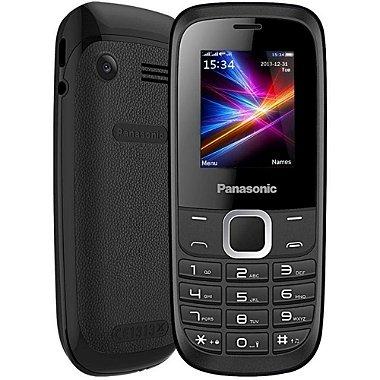 Celular Panasonic GD18 Dual SIM 1.8 ´ possui Lanterna Led + Rádio FM - Preto