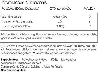 Tabela Nutricional Simcaps Vitafor