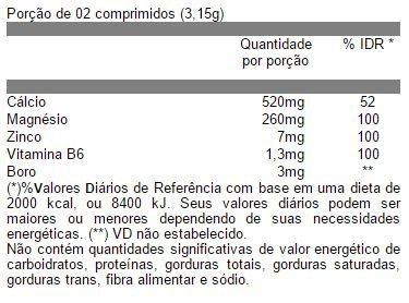 Tabela Nutricional Soma Pro Iridium Labs