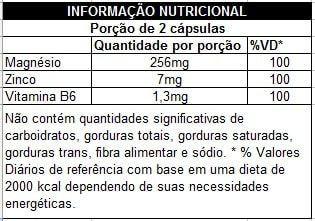 Tabela Nutricional Zma Max Titanium