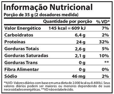 Tabela Nutricional Proplex Low Carb Atlhetica Nutrition