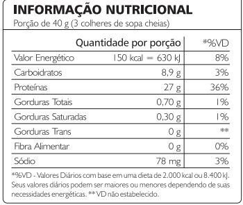 valor nutricional accomplish blood serum accelerator isolado