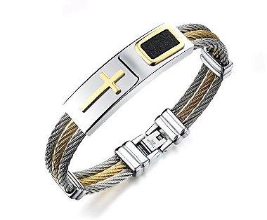 pulseira de aço, pulseira aço, pulseira masculina de aço