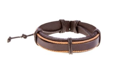 Pulseira Paradiso Verona, pulseira masculina de couro, pulseira de couro masculina