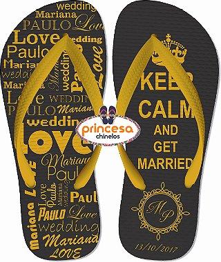 chinelos para casamento menor preço