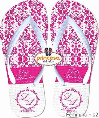 sandalias personalizadas para lembranças de casamento