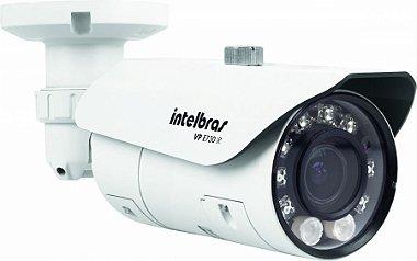 Câmera Profissional Intelbras VP E730 IR | 650 linhas 40 Metros Lente Varifocal CCD 1 / 3 Super HAD II