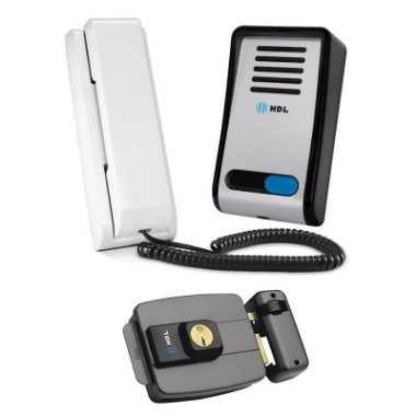 Kit Interfone HDL F8s e Fechadura HDL C 90